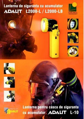 Lanterna pentru zone explozive - Cimpoaca Electronic SRL