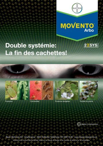 Movento® Arbo - Bayer CropScience - Schweiz