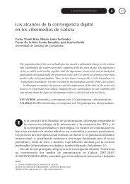 Los alcances de la convergencia digital en los cibermedios de ...