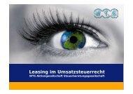 Leasing im Umsatzsteuerrecht - WTS Aktiengesellschaft ...