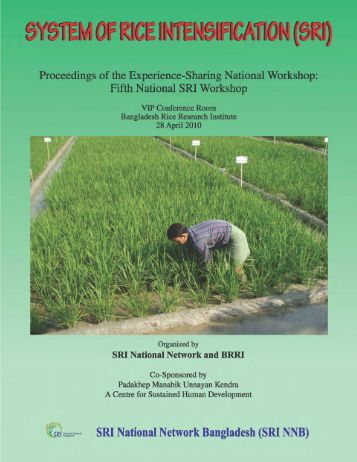 Revised proceedings - The System of Rice Intensification - Cornell ...