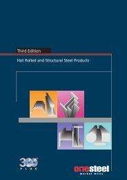 Structural Shapes - Nucor-Yamato Steel
