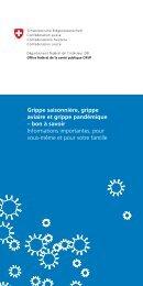 Grippe saisonnière, grippe aviaire et grippe pandémique - Migesplus
