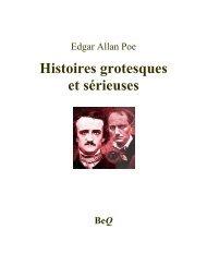 Histoires grotesques et sérieuses - La Bibliothèque électronique du ...