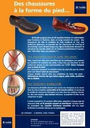 Union Française pour la santé du pied (UFSP) - Entrepatients
