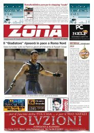 """il """"Gladiatore"""" riposerà in pace a roma Nord - Il notiziario gratuito di ..."""