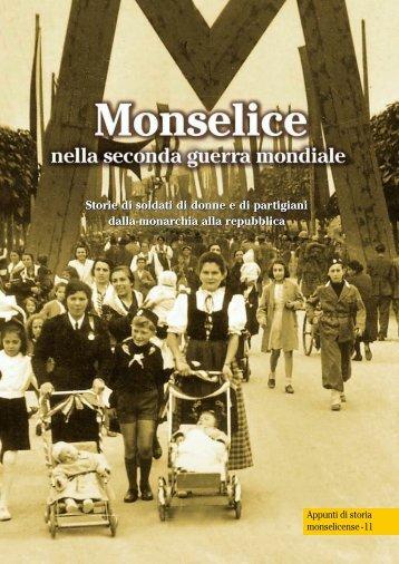 monselice durante la seconda guerra mondiale - Provincia di Padova