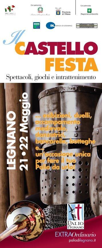 VOLANTINO PROGRAMMA CASTELLO - Provincia di Milano