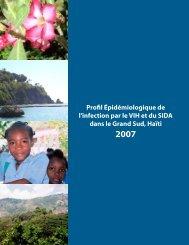 Profil Épidémiologique de l'infection par le VIH et du SIDA ... - nastad