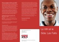NAT - HIV the facts - French version - ViiV Healthcare