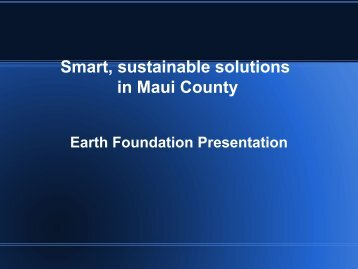 Kula Hawaii Earth Foundation Corey Ryder