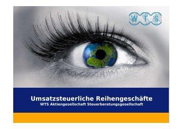 Umsatzsteuerliche Reihengeschäfte - WTS Aktiengesellschaft ...