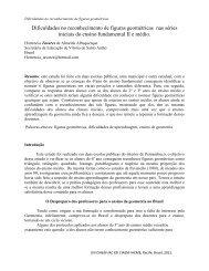 Dificulddes no reconhecimento de figuras geométricas - CIMM