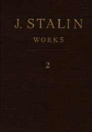 J.V. Stalin. Collected Works. 1-13 volumes. English edition.
