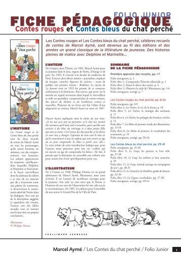 Fiche pédagogique Contes Chat perché - Cercle Gallimard de l ...