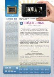 Télécharger le PDF Chavoua Tov Chemot 5772 - Torah-Box.com