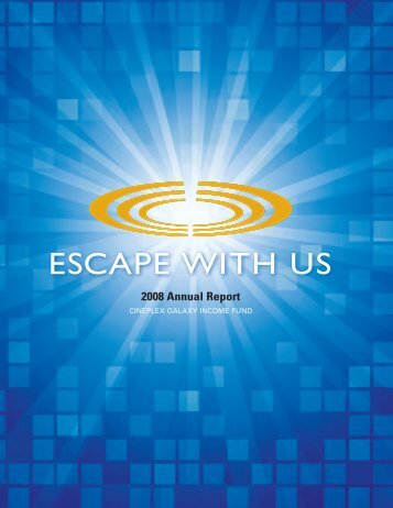 2008 Annual Report - at Cineplex.com