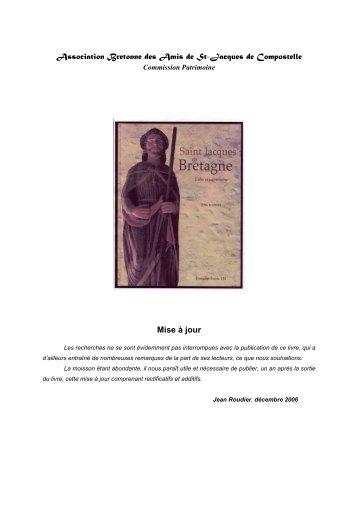 Association Bretonne des Amis de St-Jacques de Compostelle Mise ...