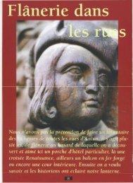 Hors-série n°1 - Autun : Flanneries dans les rues ... - Vents du Morvan