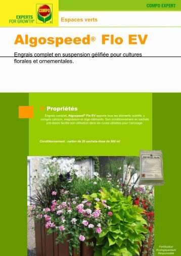 Algospeed® Flo EV - COMPO EXPERT