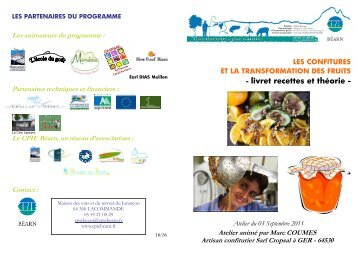 Atelier Confitures - CPIE Béarn