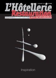 du magazine de décembre 2010 - L'Hôtellerie Restauration