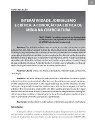 InteratIvIdade, jornalIsmo e crítIca: a condIção da crítIca de ... - Circle