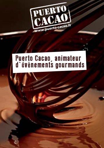 Téléchargez notre catalogue - Puerto Cacao