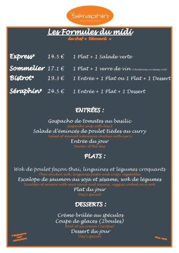Télécharger notre menu - Café Séraphin