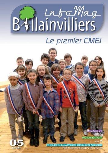 Le premier CMEJ - Mairie de Ballainvilliers