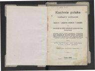 Kuchnia polska - niezbędny podręcznik Toruń 1901 - Chef Paul