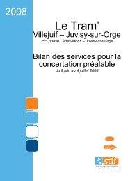 télécharger le bilan de la concertation - Tramway-T7.fr