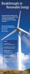 Breakthroughs in Renewable Energy - Cooperative Institute for ...