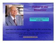 Father of the Biosensor - CiSTUP