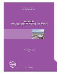 ITS Technote Appendix - World Bank Internet Error Page AutoRedirect