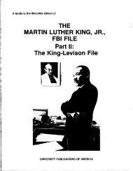 Part II: The King-Levison File - LexisNexis Academic