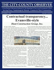 Contractual transparency... Evansville-style - City-County Observer