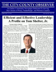 Efficient And Effective Leadership - City-County Observer