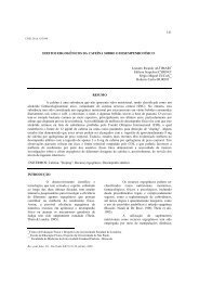 Efeitos ergogênicos da cafeína sobre o ... - ResearchGate