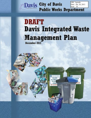 10 Draft Integrated Waste Management Plan - City Council - City of ...