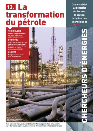 transformation du pétrole