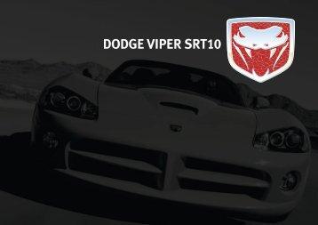 DODGE VIPER SRT10 - US CARS