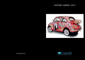 RAPPORT ANNUEL 2012 - Capgemini