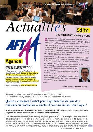 Bulletin d'actualités 1er trimestre 2012 N°42 - Association Française ...