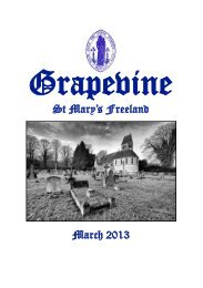 March 2013 (In Colour) - Freeland Village Website