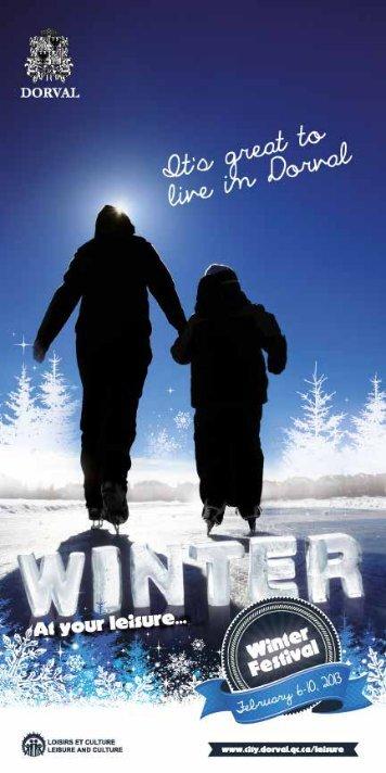 Winter 2013 (full version) - Ville de Dorval