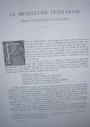 Federico Hermanin, Le miniature ferraresi della Biblioteca Vaticana ...