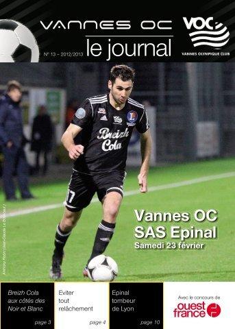 le journal - Vannes Olympique Club