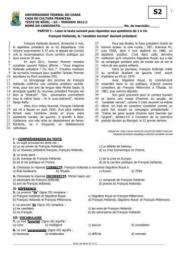 s2 – período 2012.2 nome do candidato - Casas de Cultura ...