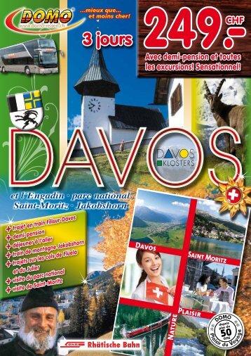 Davos 2013 - Domo Reisen